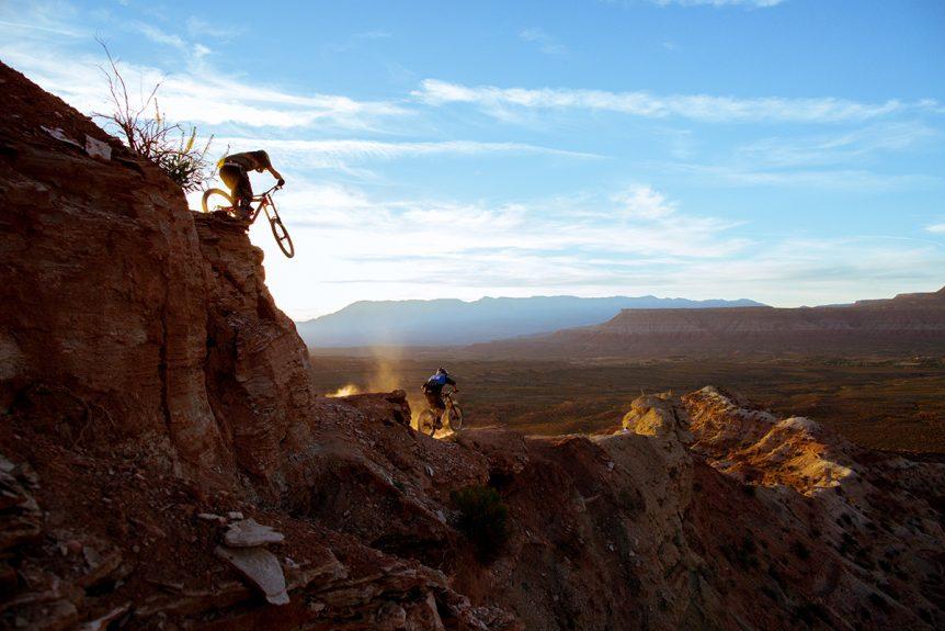 Mountain Bikers in Utah
